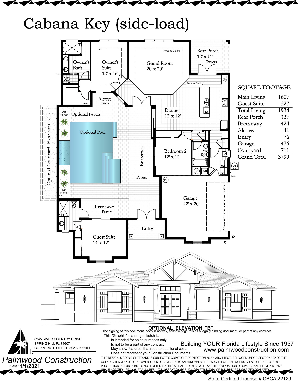 Cabana Key Floor Plan